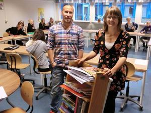 Anna Berg har själv valt vilka utvecklingsområden hon vill jobba med och där kommer Peter Bäckman in som coach för att stärka henne i lärarrollen.