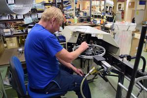 Det kommer att krävas extra kraftiga hjul till de nya postcyklarna.