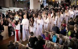 I publiken satt föräldrar, syskon och elever. Foto: Peter Ohlsson/DT