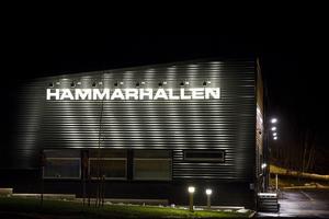Idrottsanläggningen Hammarhallen i Surahammar.