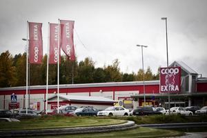 Coop Extra i Hudiksvall.