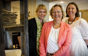 Ylva Olofsson, Karin Ånöstam och Linda Elverstig är ivriga att sätta i gång med projektet Smak av Gävleborg.