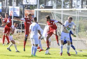 Söderhamns FF fick gå mållösa av planen i hemmamatchen mot Härnösands FF.