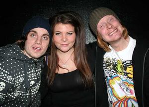 Konrad. Kristoffer, Anna och Max