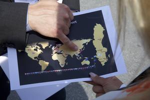 Hongkong, Peking, Thailand, Nya Zeeland och Australien, nu finns den svenska exportsuccén i 40 länder.