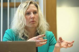 Sofie Wiklund, före detta ledarskribent på Dala-Demokraten och rektor på Brunnsvik, blir politisk sekreterare i Borlänge.