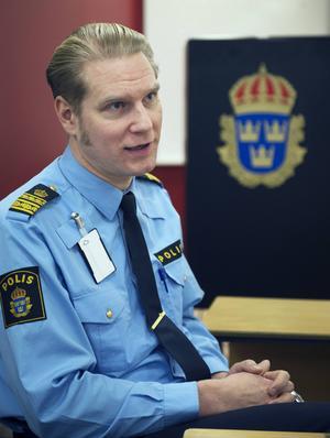 Josef Wiklund är oroad över utvecklingen, att framför allt ett ökat användande av cannabis syns bland Sundsvalls ungdomar.