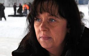 Publikens intresse håller i sig för varje år, säger Anni Andersson, Old Iron Cruisers som arrangerar racet för motordrivna sparkar.Foto: BENGT PETTERSSON