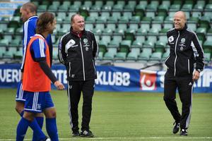 Roger Franzén och Joel Cedergren leder GIF Sundsvall tillsammans för andra året i rad.