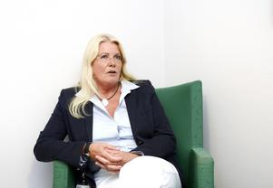 – Merparten av våra stafettläkare finns i Örnsköldsvik och i viss mån i Sollefteå. Det är där vi har de största problemen att rekrytera läkare, säger Kristina Mårtensson, länsklinikchef för psykiatriska kliniken.