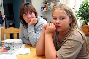 Rebecka Lif blev mycket trött efter vaccineringen mot svininfluensa. Foto:Anders Mojanis/Arkiv