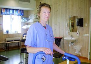 Rita Sjöström, sjukgymnast, Strömsunds hälsocentral.