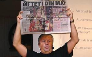 Expressen har i några matlarm gett Tommy Svensson draghjälp i striden mot tillsatser i mat i allmänhet och mot natriumglutamat i synnerhet.FOTO BOO ERICSSON