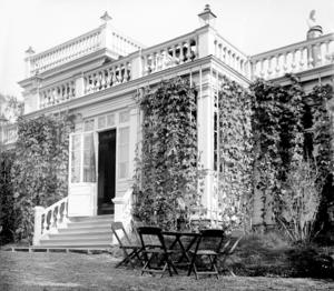 Idyllen Villa Björkhem.   Okänd fotograf, Jamtlis arkiv.