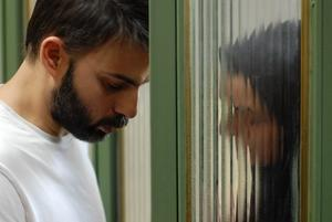Peyman Moaadi och Sareh Bayat .