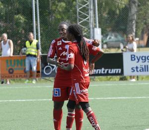 Jodi-Ann Robinson och Akheela Darcel Mollon svarade för två respektive ett mål i 5–1-segern mot Halmia. För Mollon var matchen hennes sista i KIK-tröjan, då hon kallats till landslagsspel med sitt Trinidad & Tobago.