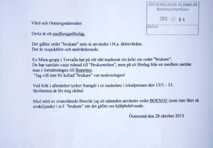 När den äldre kvinnan från Frösön skrev ett medborgarförslag, tog det skruv i kommunhuset.