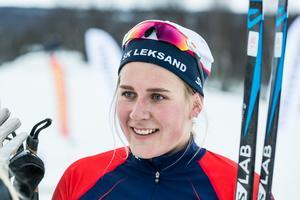Leksands Sofie Oskarsson slog till med en förstaplats och tredjeplats under premiären i Bruksvallarna.