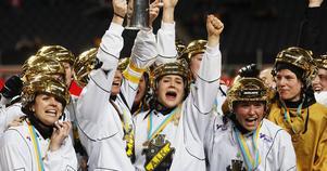 Linnéa Larsson var med och tog guld med AIK i fjol.