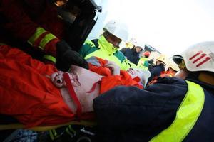 Det gäller att jobba lugnt och metodiskt när det inträffar allvarliga olyckor.