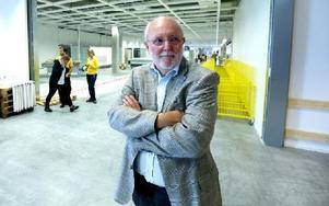 – Helt fantastiskt, säger Lars Ivarsson, vd i Norra Backa i Borlänge AB, som varit med från början av planeringen för att Ikea skulle etablera sig i Borlänge. Foto: Johnny Fredborg