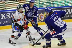 Utvisningar på Frölunda bjöd in Leksand i matchen.