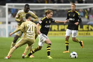 Senast Johan Blomberg spelade i Allsvenskan var det för AIK. Nu är han aktuell för GIF Sundsvall. Foto: Jessica Gow /TT/