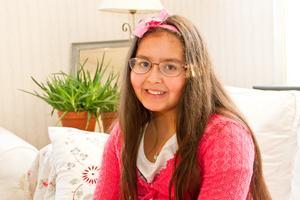 Nioåriga Mina i Los kan bli Sveriges nästa juniorbagare.