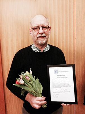 Kjell Wallin har av Tekniska Föreningen i Gävle utsetts till Årets teknikbefrämjare.