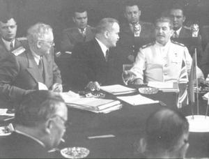 Molotov och Stalin 1943.