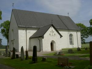 Österunda kyrka med fina målningar Albertus Pictor!