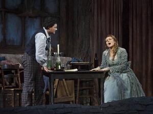 Nu visas operan La Bohème, från Kungliga Operan i Stockholm, åter på bioduken på Folkets hus i Säter. Bilden i fråga är dock från en uppsättning på Metropolitan i New York 2014.