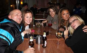 Bill&Bob. Mange, Emma, Mats, Michaela och Linda