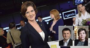 Moderatledaren Anna Kindberg Batra får kritik av Jasenko Osmanovic och Kristina Nilsson, S-politiker i Västernorrland.