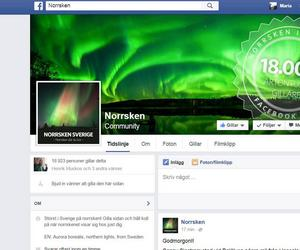 Under den senaste veckan har sidans medlemmar ökat med nästan fyra tusen medlemmar. Det visar att intresset för Norrsken är stort. Sidan är skapad för att förmedla information om när norrsken ska inträffa, så fler kan få möjligheten att se fenomenet.