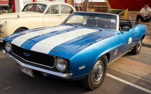 Chevrolet presenterade Camaro som ett svar på Ford Mustang...   Foto:Shutterstock.com