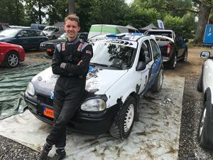 Martin Jakobsson gör sin SM-debut i rallysammanhang.