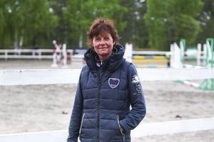 Åse Li Sterner, ridskolechef på  Hudiksvalls Rid & Ponnyklubb.