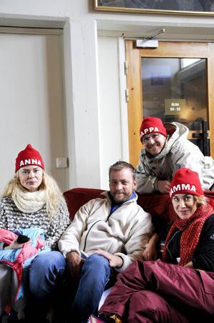 Hanna Elffors Elfström, Erik Johansson, Morgan Alling och Anja Lundqvist är utgör en rookie och tre veteraner som spelar i Sunefilmerna.