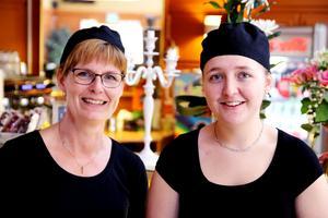 Eva Sahlin och Annie Nilsson är nya ägare på cafét i Krokanenhuset. Som nu blir konditori och heter Konditori Collini.
