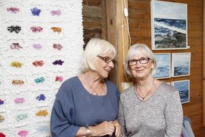 Sex utställare har gått samman, däribland Birgit Eriksson och Ingrid Hallén.