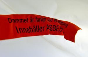 Tydlig fara. Vi är bra på att varna för synliga risker på arbetsplatser, men sämre på att hindra psykisk ohälsa. Foto: Tomas Oneborg/Scanpix/TT