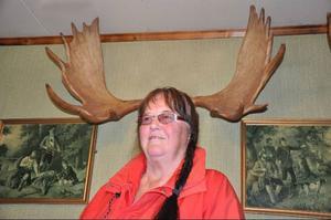 Gölin Jonsson, 71, Eriksberg, Stugun, älgjägare sedan 1972 och med 70 nedlagda fjur bakom sig.