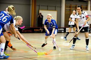 Emma Eriksson ledde Kumla till seger i första kvalmatchen till division 1.