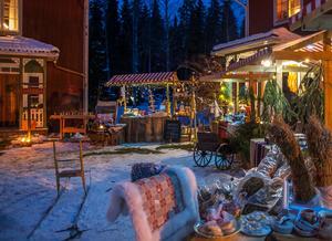 Julmarknaden i Hedby – som en saga och med hantverk av till och med konstnärlig kvalitet.