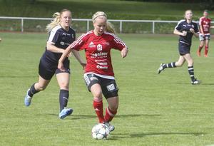 Nyförvärvet Wilma Larsson spikade slutresultatet 4–0 för Team Hudik.