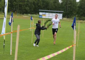 Magnus Lindberg blev årets segrare på den långa banan, han tävlar för Ockelbo SK.