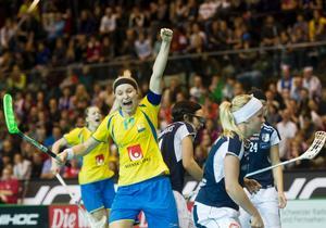 Karolina Widar är fyra i världen.