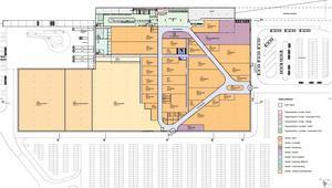 Shopping och flygplatsterminalen