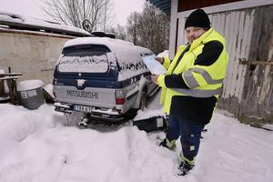 Häromdagen ramlade det ner en parkeringsbot i Hasse Anderssons brevlåda. Hans avställda reservdelsbil ska ha varit felparkerad i Malmö.